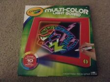 New Crayons Multi-Color Light Board W/ 10 Light Settings Ages 6 And Up