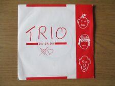 "Trio – Da Da Da   Vinyl 7"" Single UK 1982 Electronic Synth Pop MERCURY - CORP 5"