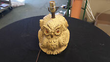 Antique 3 Owl Lamp (Extremely Ugly, according to my Old Lady)