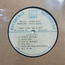 Diana Ross Lady Sings The Blues PART III Motown acetate Soul Northern Rocksteady