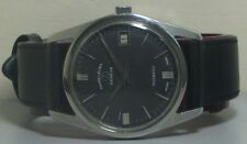 Vintage Favre Leuba Automatic Date Mens Swiss Wrist Watch R536 Old Used