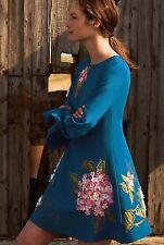 NEW $228 Anthropologie Hydrangea Swing Dress