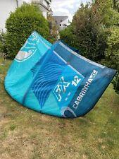 Cabrinha Fx 2019 12qm Kite C2 Blau Blue - Wie Neu