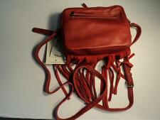 NWT LUCKY BRAND KYLE LEATHER RUBY RED SHOULDER CROSS BODY BAG LB2773 RETAIL $138
