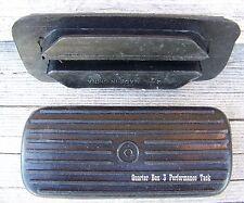 Stirrup Pads (Ridged) - Sizes 4 1/4