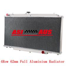 4Row Radiator For Nissan Patrol Y61 GU 4.5L TB45E 6CYL Petrol 97-01 MT Aluminium