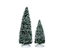 Lemax Bäume 2er Set  Weihnachtsdorf Baum Dekobaum Fichte Tanne Weihnachtt
