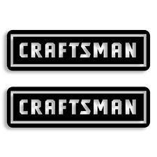 Craftsman Tools Vinyl Decal Sticker Set of 2 Free Shipping 7 Sizes