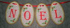 FSL CHRISTMAS ALPHABET #1 3IN - 26 MACHINE EMBROIDERY DESIGNS 4 X 4 HOOP (AZEB)