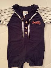 Atlanta Braves MLB Infant Baby Romper Genuine Merchandise Size 18 Months