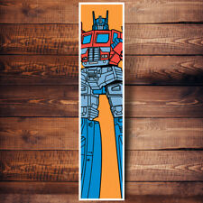**TRANSFORMERS** POP ART VINTAGE STYLE 9x40 INCHES COLORFUL 80'S CARTOON POSTER