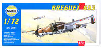 SMER Breguet 693, französischer Bomber, 0844, Bausatz 1:72