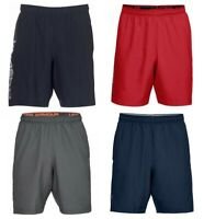 Under Armour Mens Shorts Wordmark Sports Football Running Training Gym Short