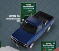 Chevrolet Silverado 1997 Rare Argentina Diecast Scale 1:43 New With Magazine