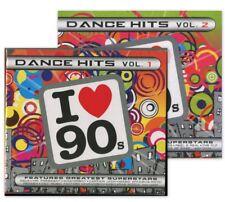 4CD   DANCE HITS Volume 1 and Volume 2 ( I Love 90's ) Techno,  Pop, Dance club