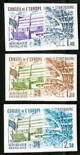 France Stamps # 1027-9 MNH XF Imperf
