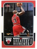 2006-07 Fleer Jordan's Greatest Moments Michael Jordan #MJ-9, Chicago Bulls