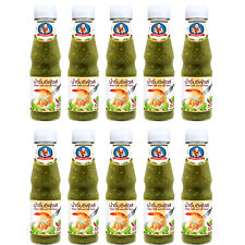 10 Bottles x Healthy Boy Seafood Dipping Sauce,Green Chilli and Lime Sauce 165g.