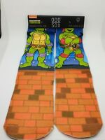 NWT Nickelodeon TMNT Ninja Turtles Ankle Socks 4 Pair Boys Size 4T-6T Gift!!