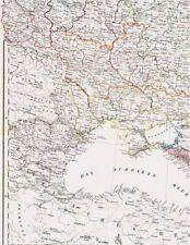 🗻 🗻Landkarte KAUKASUS Armenia Abchasien Dagestan Tschetschenien Georgia 1844