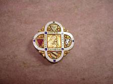 Broche Insigne Religieux émaillé  Diocèse de Cambrai