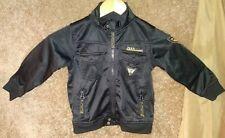 3T black jacket Infringement Raiders Jean Co shiny finish pilot biker