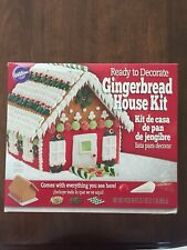 Wilton Ready To Decorate Gingerbread House Kit