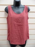 LADIES TOP VEST ROSEWOOD SIZE XS - 8 SUMMER SLEEVELESS BNWT
