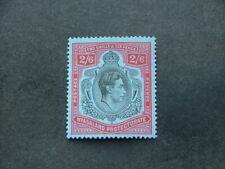 Nyasaland KGVI 1938 2/6 black & red on blue SG140 UM/MNH