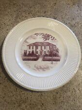 Wedgwood Edme St. Saint Polycarp's Church - collector plates - set of 6 - Exc