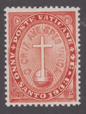 Vatican City 1933 B2 Semi-Postal Stamp – Holy Year Issue - MH