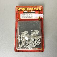 VINTAGE#Warhammer Saurus Temple Guard  Blister Metal#MOSC
