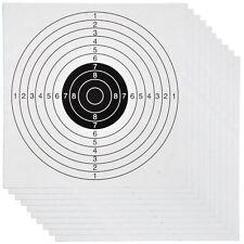 1000 Stk. 14x14cm Zielscheiben für Kugelfang Luftgewehr Luftpistole Ziel