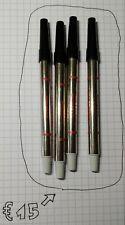 4x Sheaffer Rollerball Refill, Black, NOS
