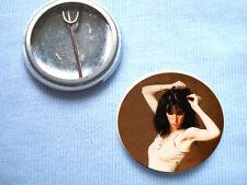 Patti Smith 25mm Badge Iggy Pop Punk Ramones Lou Reed
