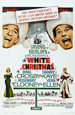 "WHITE CHRISTMAS Movie Poster [Licensed-NEW-USA] 27x40"" Theater Size Kaye,Crosby"