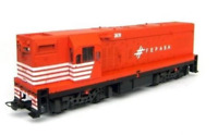 Miniature Electric Locomotive G12 FEPASA Phase II HO Frateschi 3002 scale 1:87