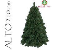 Albero Di Natale Pino Boston Cm 210 Tips 1590 Base Cm 145 arredo natalizio