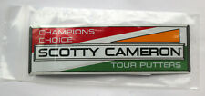 Scotty Cameron Champion's Choice Tour Putters Sticker - Brand NEW in Bag
