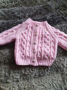 Baby Aran Cardigan