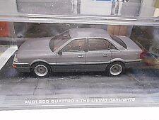 AUDI 200 Quattro C3 Limousine grau The Living Daylights 007 Bond IXO Altaya 1:43
