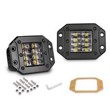 Flush Mount LED Pod Cube Work Lights Bar Offroad Spot Fog Driving Lamp Truck ATV
