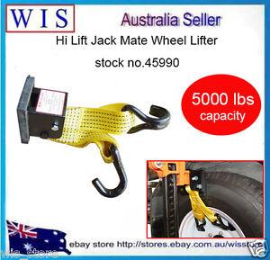 Hi Lift Jack Mate Lifter Farm Jack Wheel Lifter 4WD 4x4 Offroad Recovery -45990