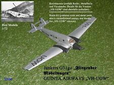 """Junkers G31go GUINEA AIRWAYS """"VH-UOW""""   1/72 Bird Models Resinbausatz/resin kit"""