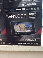 Kenwood DNX715wdab  In Car Sat Nav With Dab Cd DVD Specific Toyota Large Display