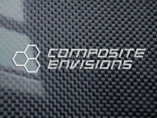 "Carbon Fiber Panel .185""/4.7mm Plain Weave - EPOXY-12"" x 24"""