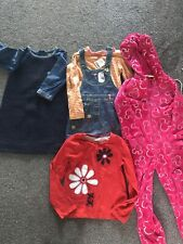 Girls Clothes Bundle Age 5-6, Next, New, Tags, Denim, Dungaree, Dress