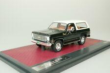 Chevrolet Blazer K5 Noir / Blanc 1978 1/43 Matrix