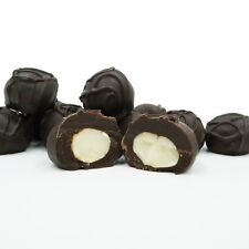 Philadelphia Candies Macadamia Nuts, Dark Chocolate Covered 2 Pound Gift Box