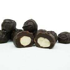Philadelphia Candies Macadamia Nuts, Dark Chocolate Covered 1 Pound Gift Box